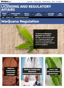 Michigan Medical Marijuana Card Online Processing, LARA